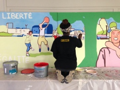 Chantier éducatif à Montfermeil